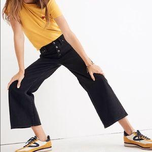 Madewell Wide Leg Crop Jeans Pants